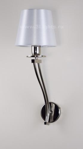 3513/1 WALL LAMP CHROME PANTALLA BLANCO