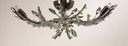 6129/3LP CHANDELIER O STRASS