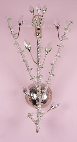 6131/1LP WALL LAMP O STRASS