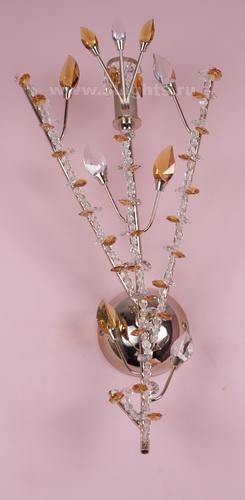 6231/1T WALL LAMP O STRASS